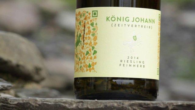 Weingut König Johann – Zeitvertreib – Riesling Feinherb 2014