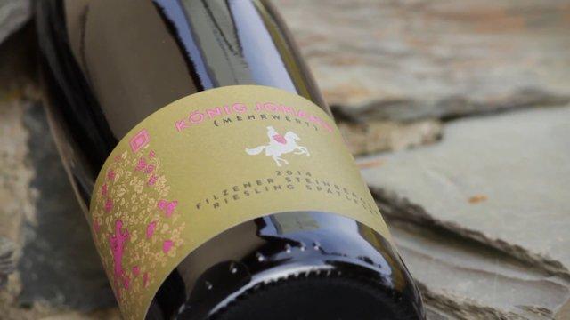 König Johann winery – added value – Riesling late harvest 2014