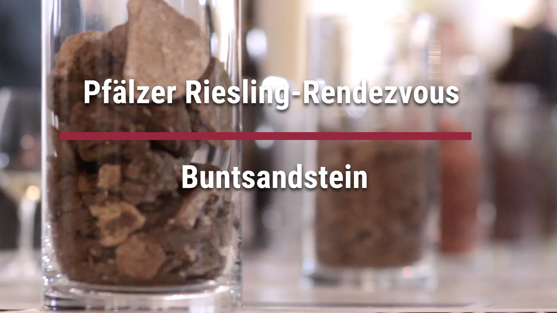 """Pfälzer Riesling-Rendezvous – Riesling-Parcour"" – Buntsandstein"