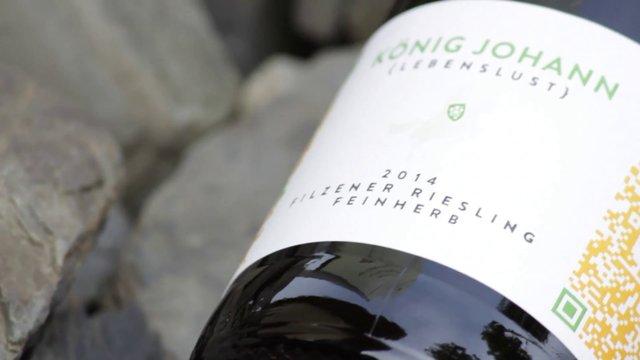 Weingut König Johann – Lebenslust – Filzener Riesling Feinherb 2014