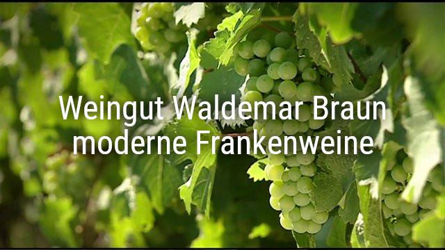 Weingut Waldemar Braun – moderne Frankenweine