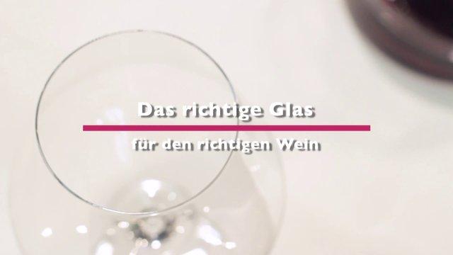 Auswahlhilfen für das richtige Weinglas
