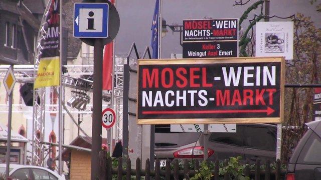 Der Mosel-Wein-Nachts-Markt in der Traben-Trarbacher Unterwelt
