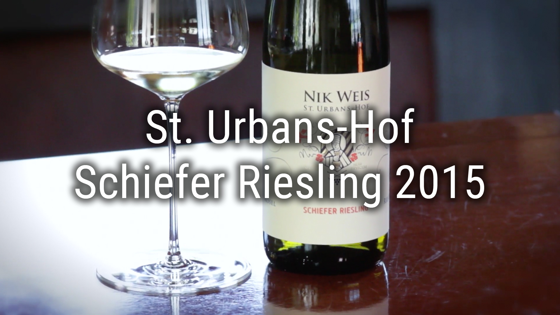 St. Urbans-Hof – Schiefer Riesling 2015
