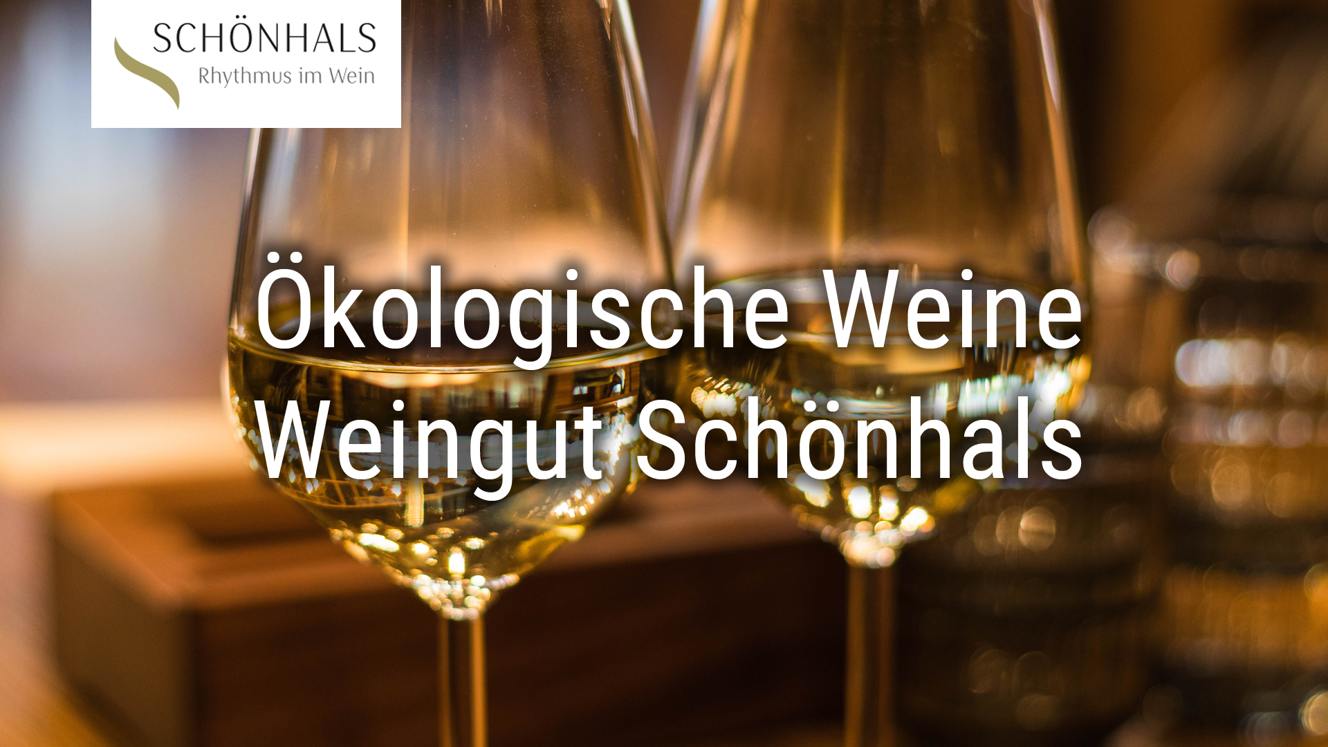 Organic wines from the Schönhals winery (ECOVIN)