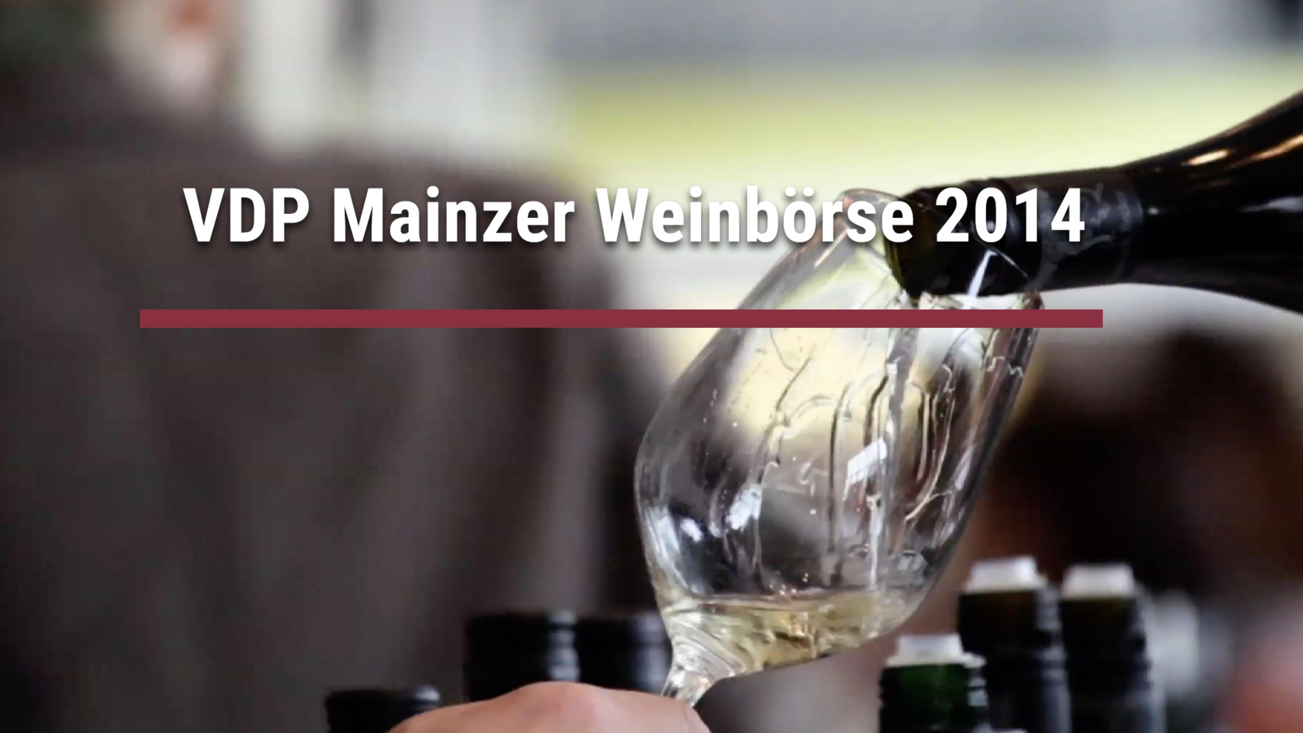 VDP Mainzer Weinbörse 2014
