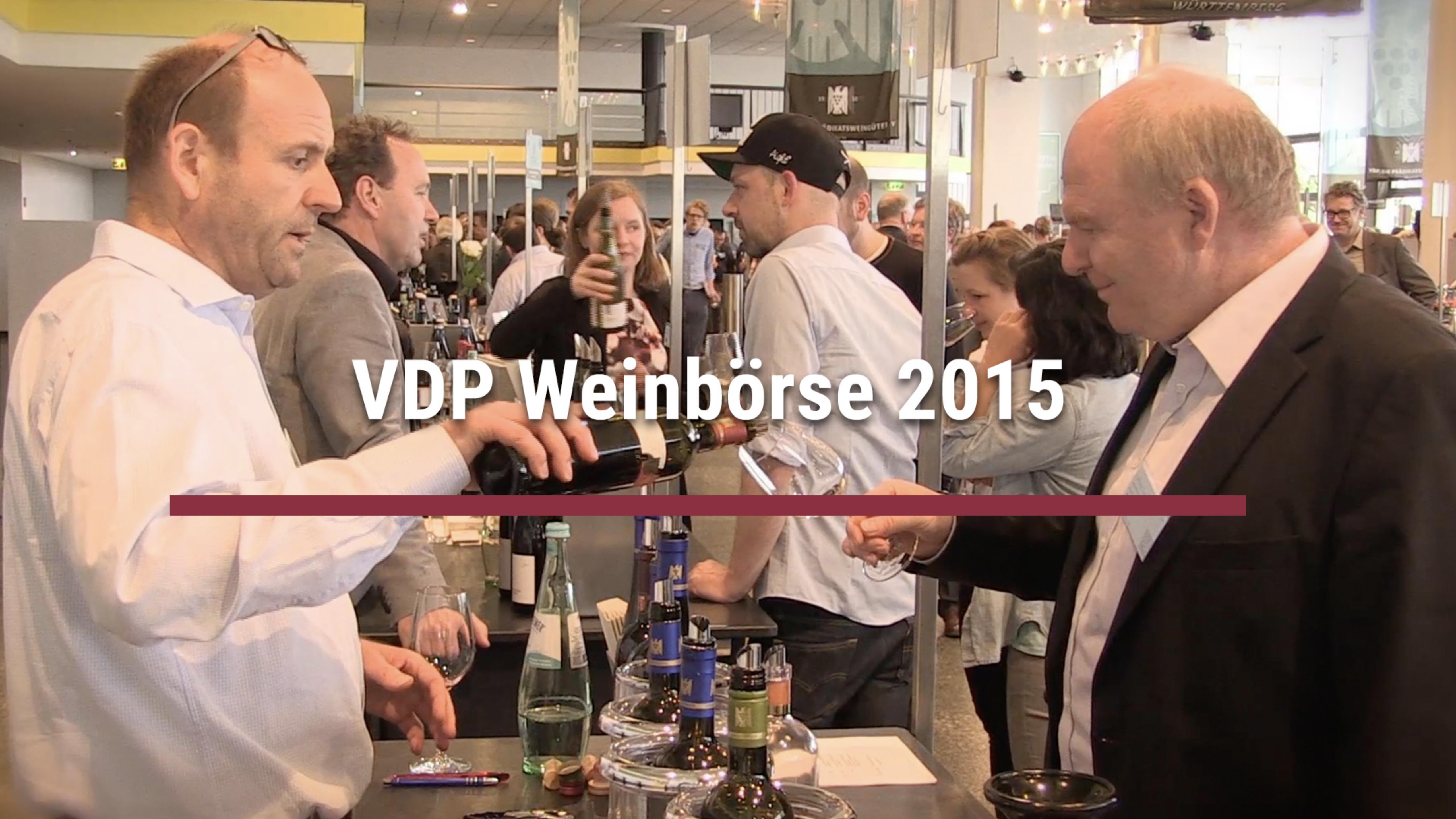 VDP Weinbörse 2015