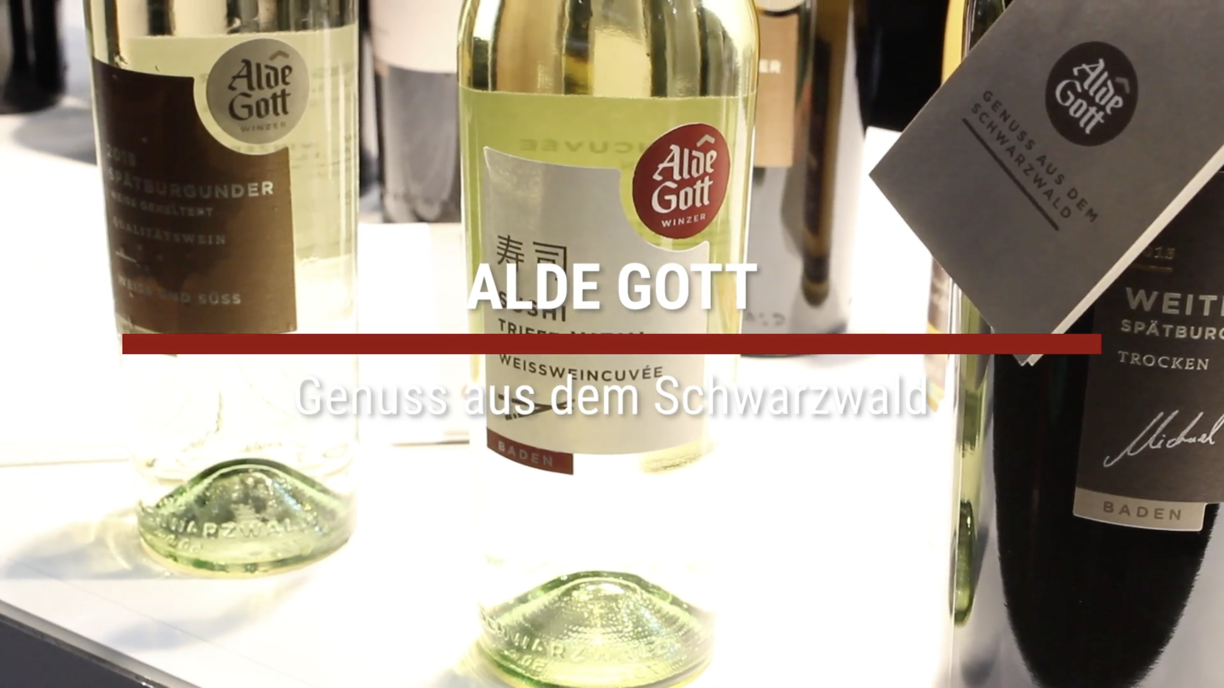 Alde Gott – Sushi wine from the Black Forest