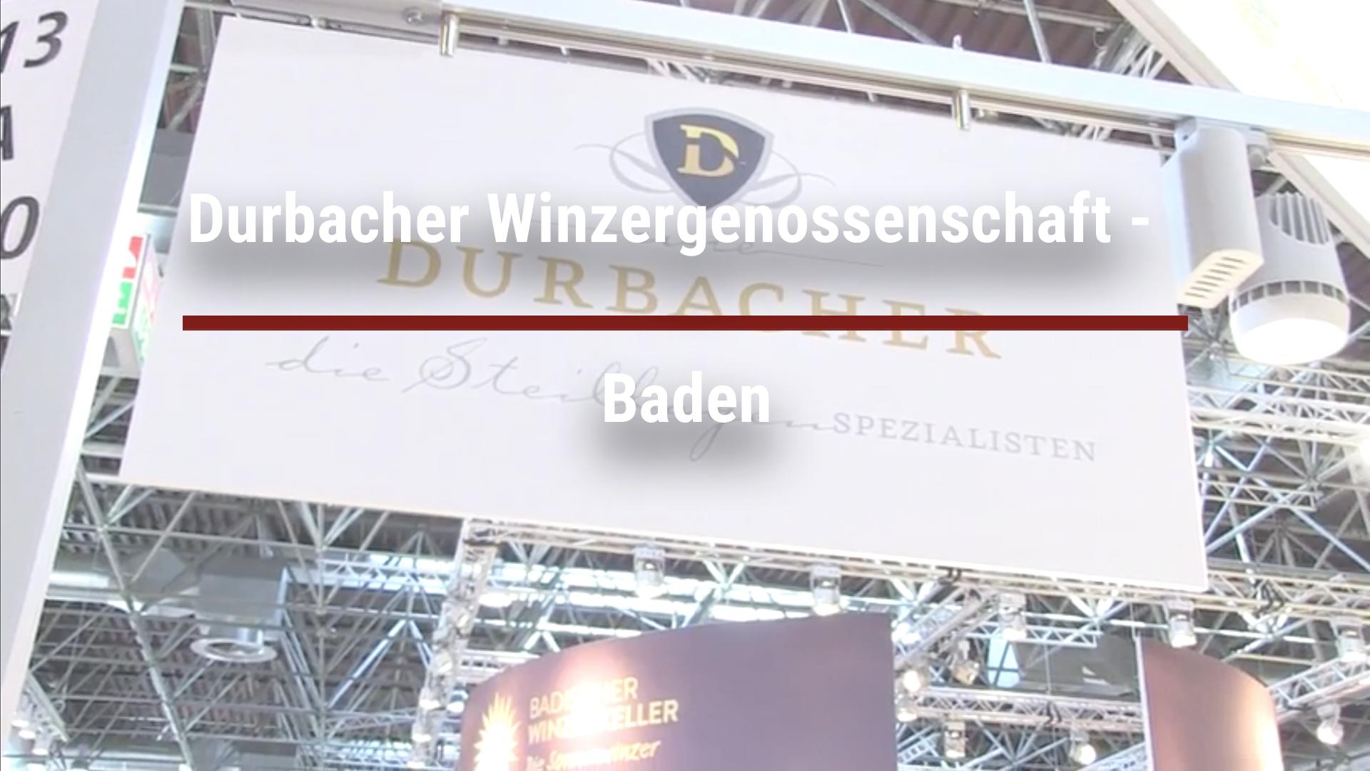 Durbacher Winzergenossenschaft –  Baden