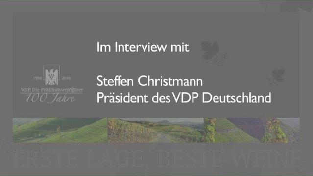 Interview Steffen Christmann – President of VdP Germany