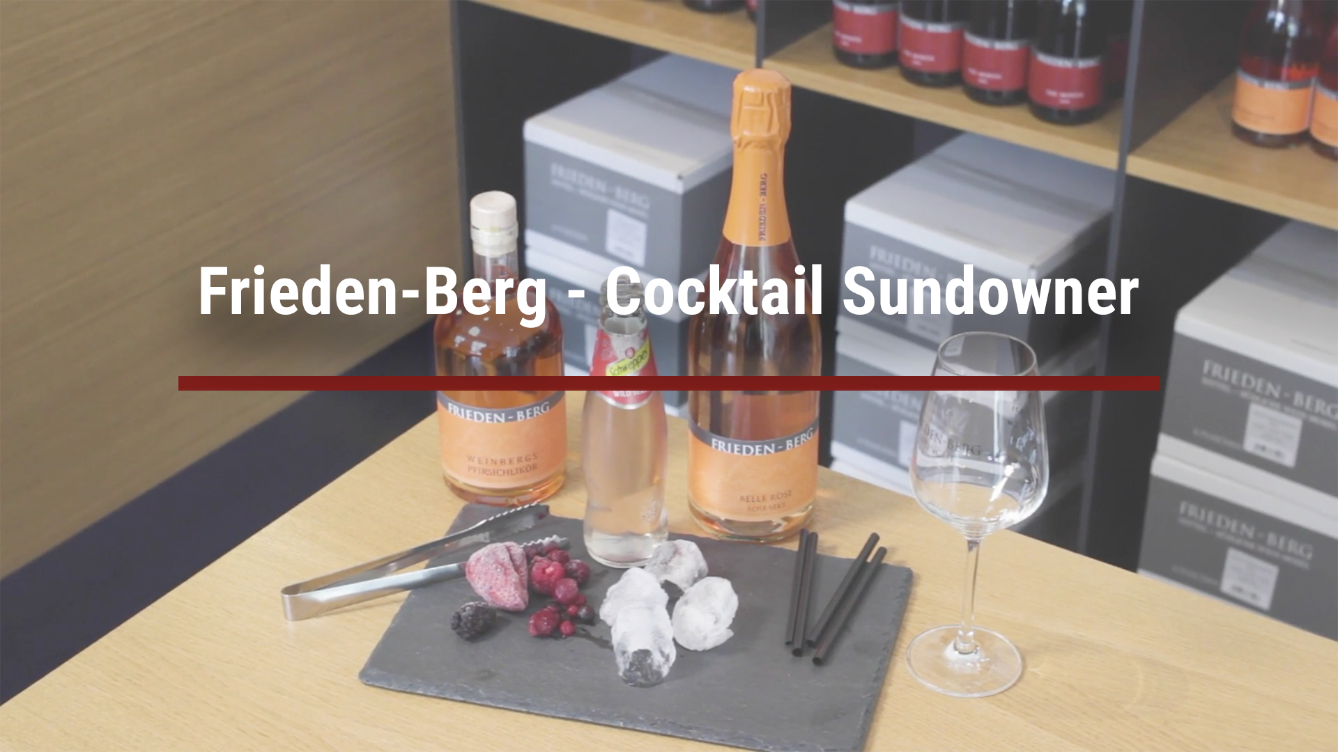 Frieden-Berg – Cocktail Sundowner