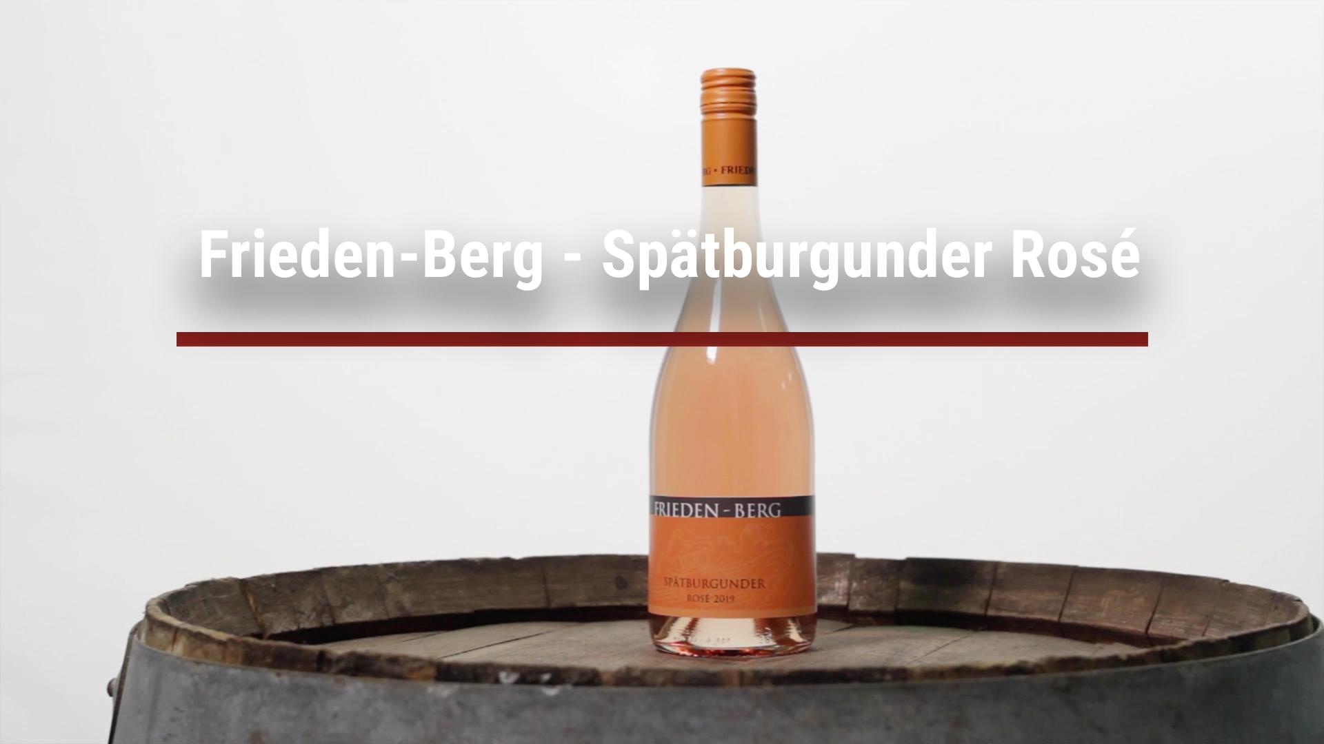 Frieden-Berg – Pinot Noir Rosé