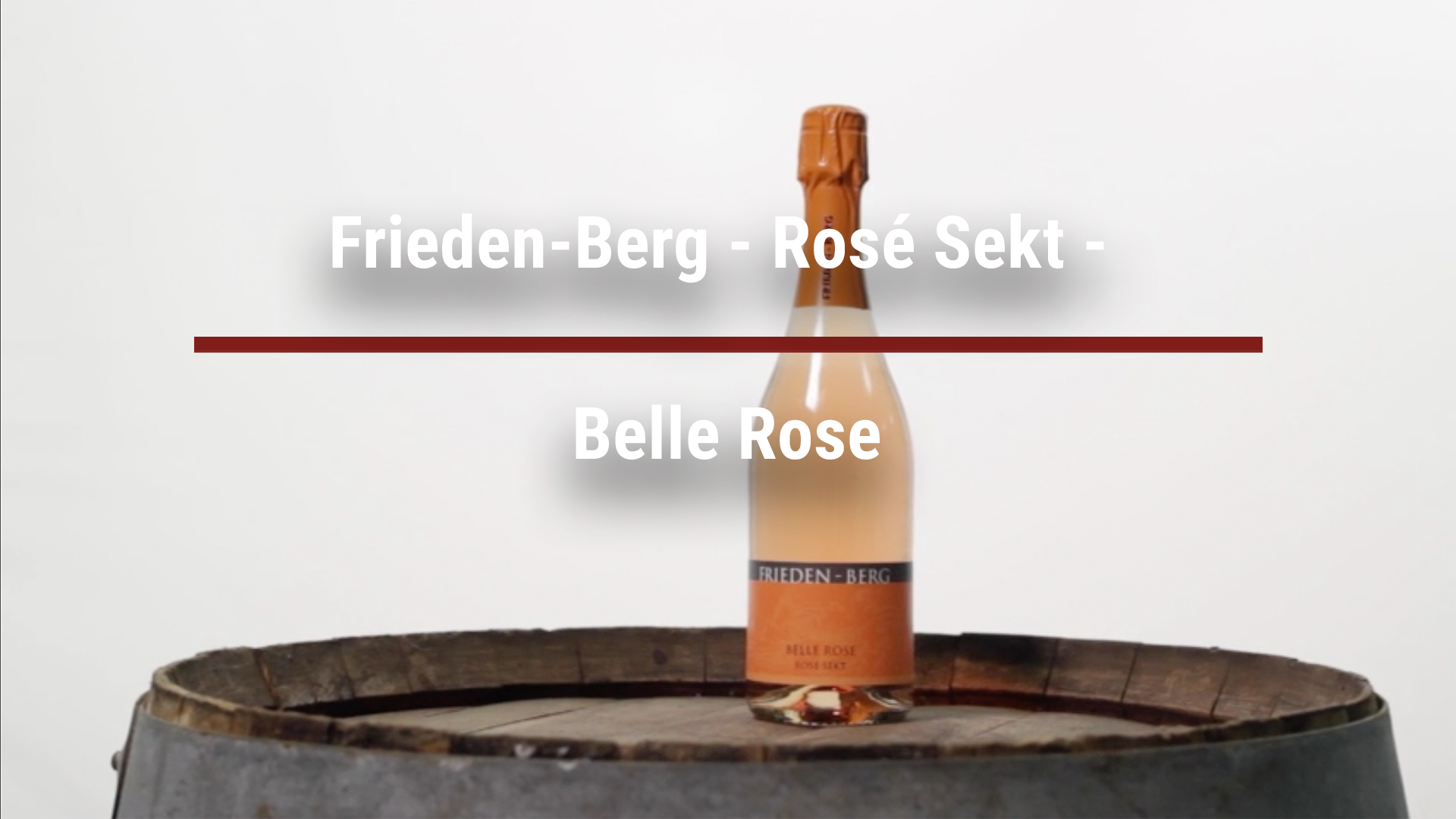 Frieden-Berg – Rosé Sekt – Belle Rose