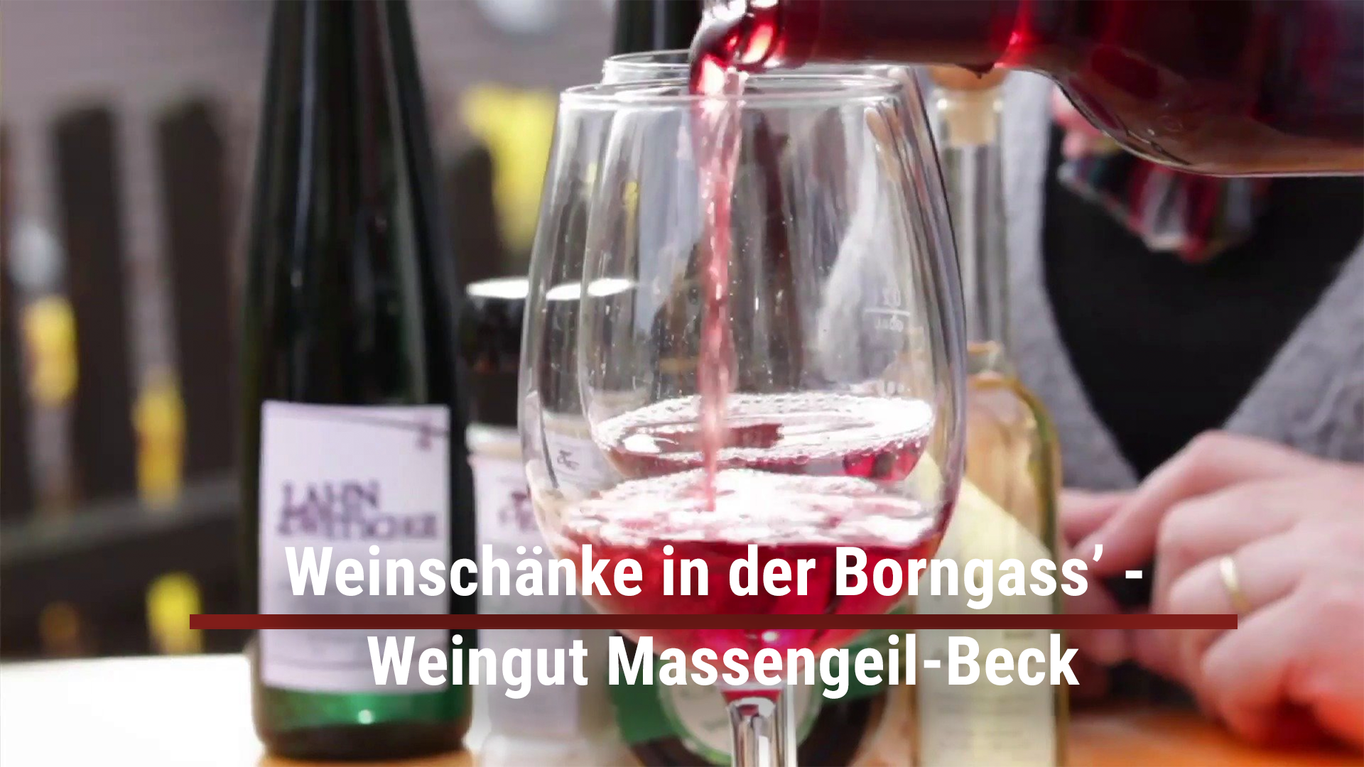 Weinschänke in Borngass '- Massengeil-Beck winery