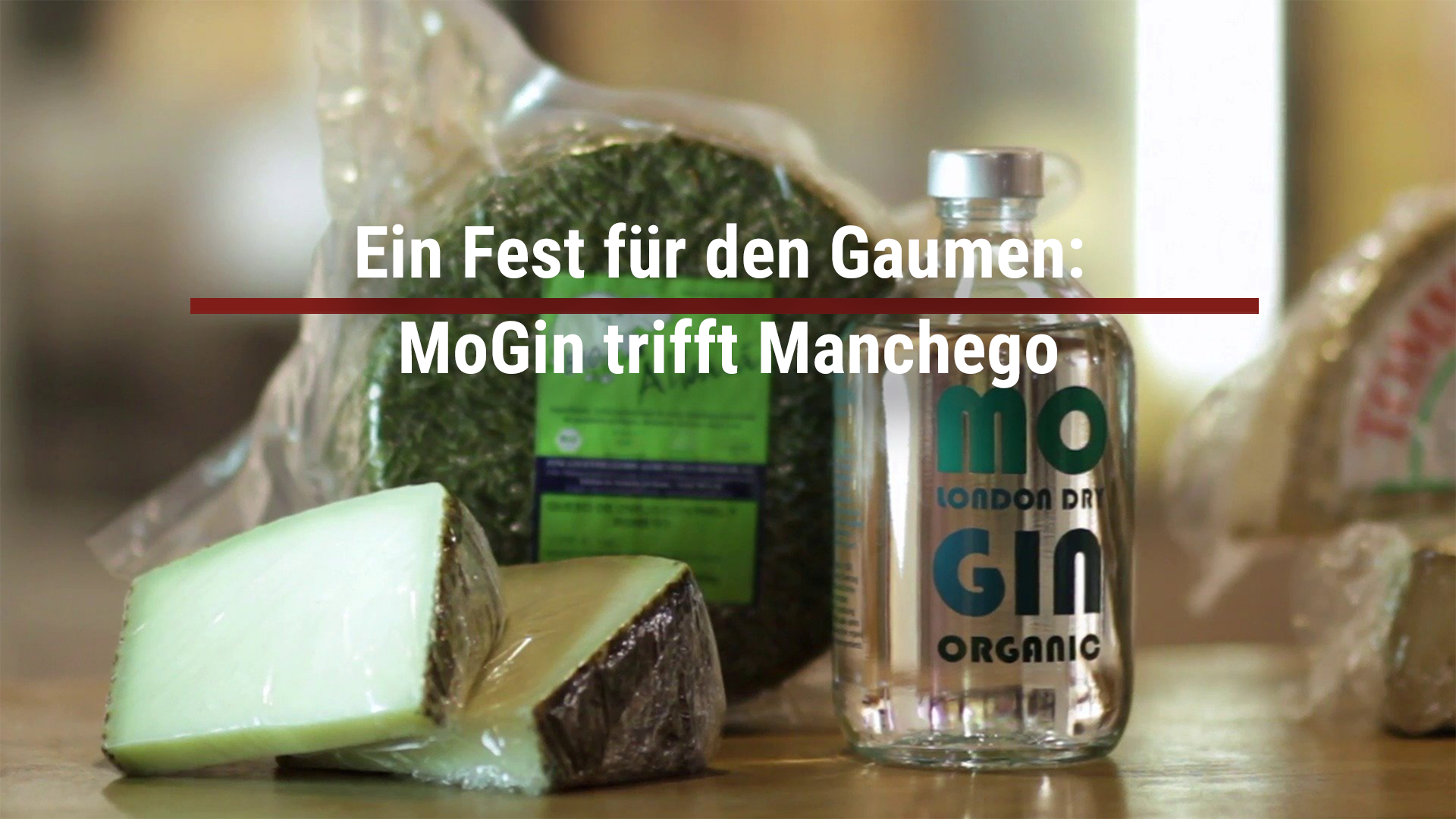 A feast for the palate: MoGin meets Manchego