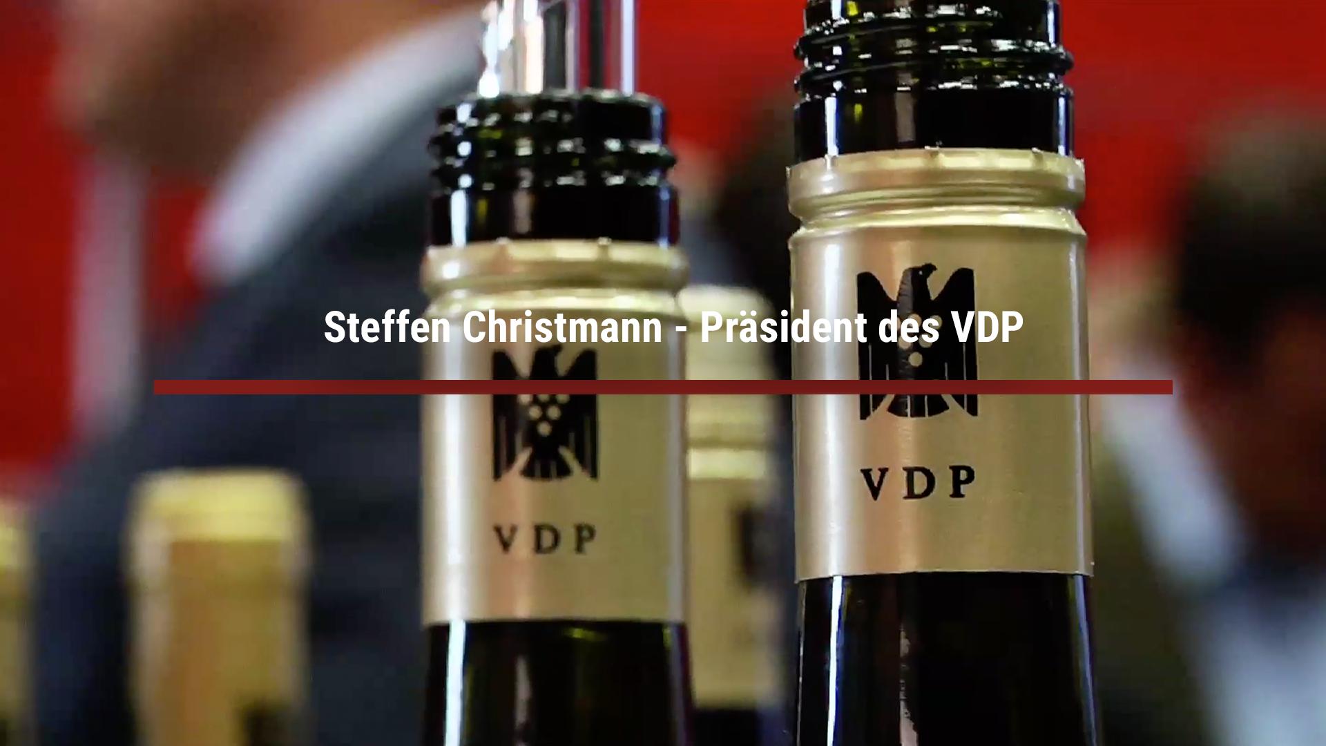 Steffen Christmann – Präsident des VDP