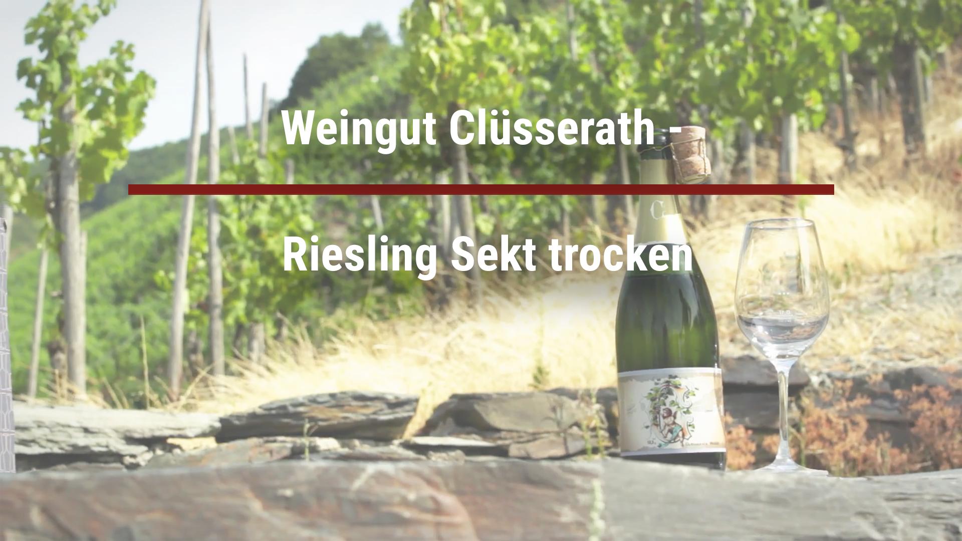 Winery Clüsserath – Riesling Sekt trocken