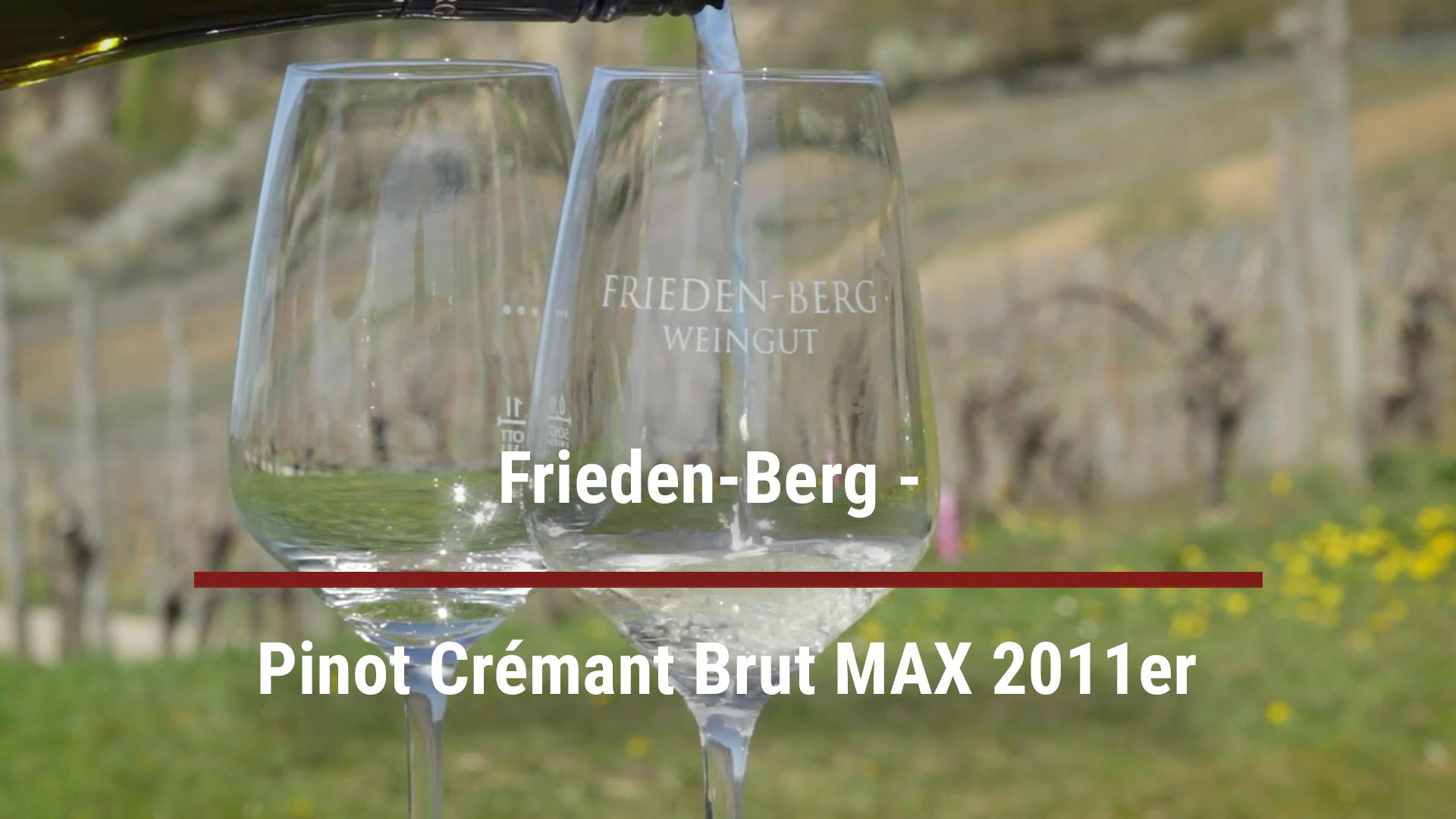 Frieden-Berg –  Pinot Crémant Brut MAX 2011er