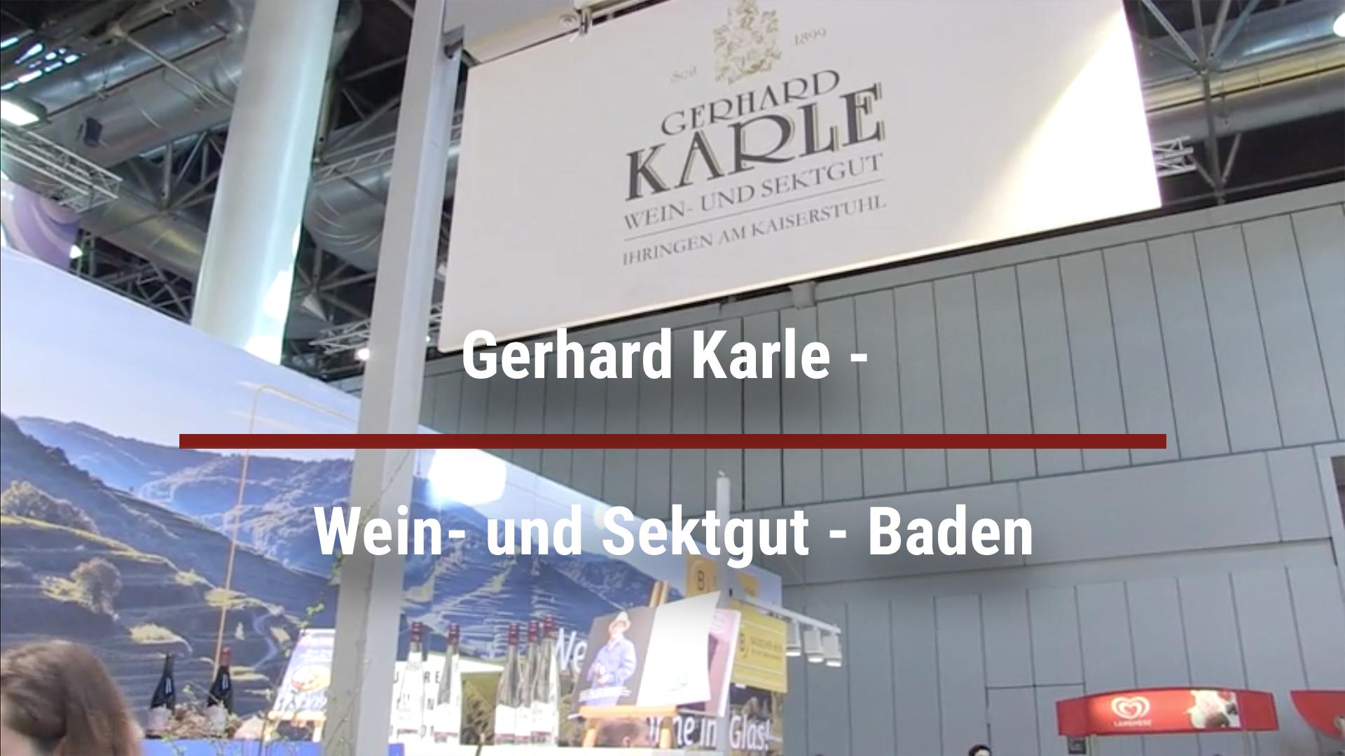 Gerhard Karle – Wein- and Sektgut – Baden
