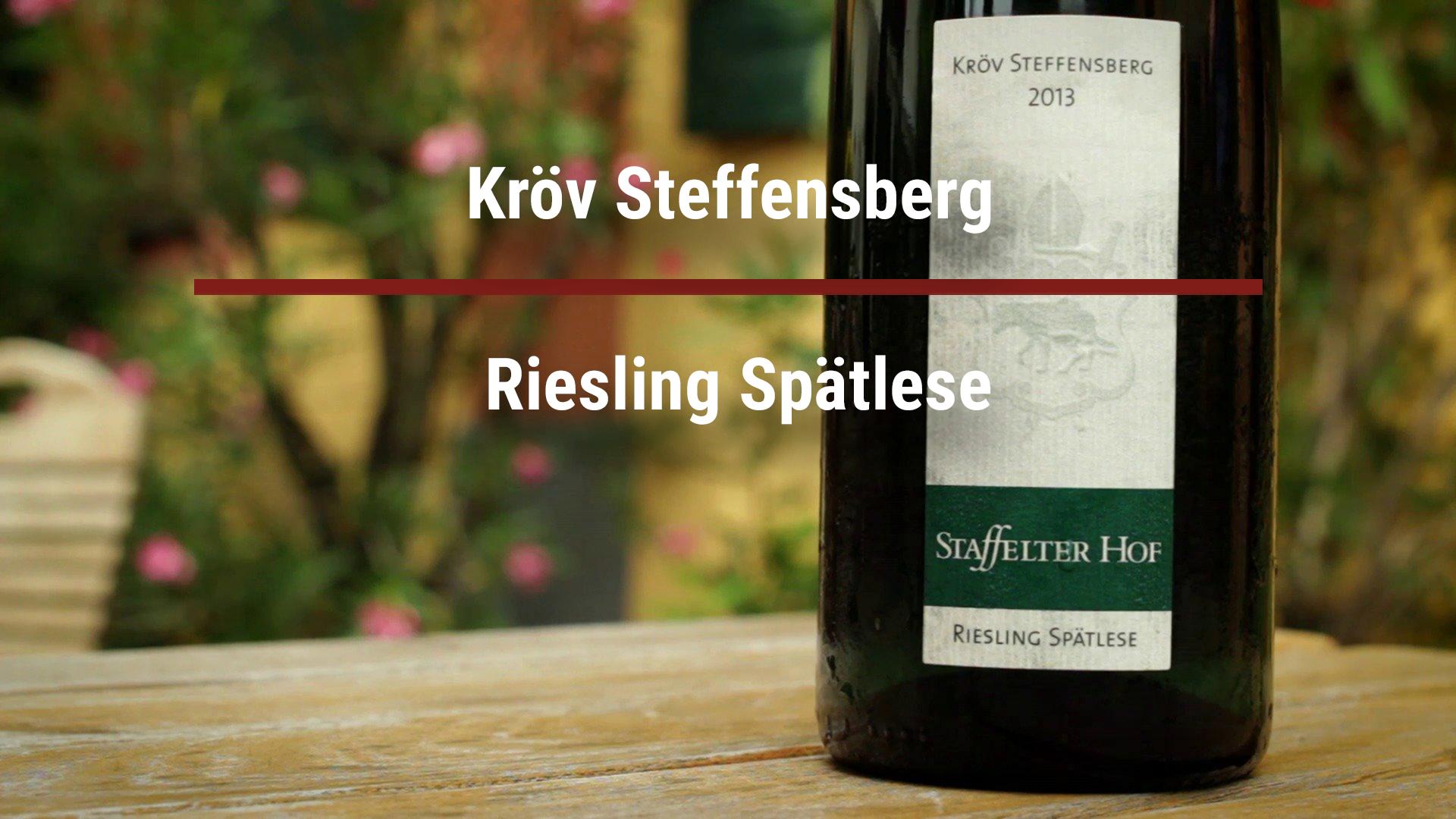 Kröv Steffensberg Riesling Spätlese