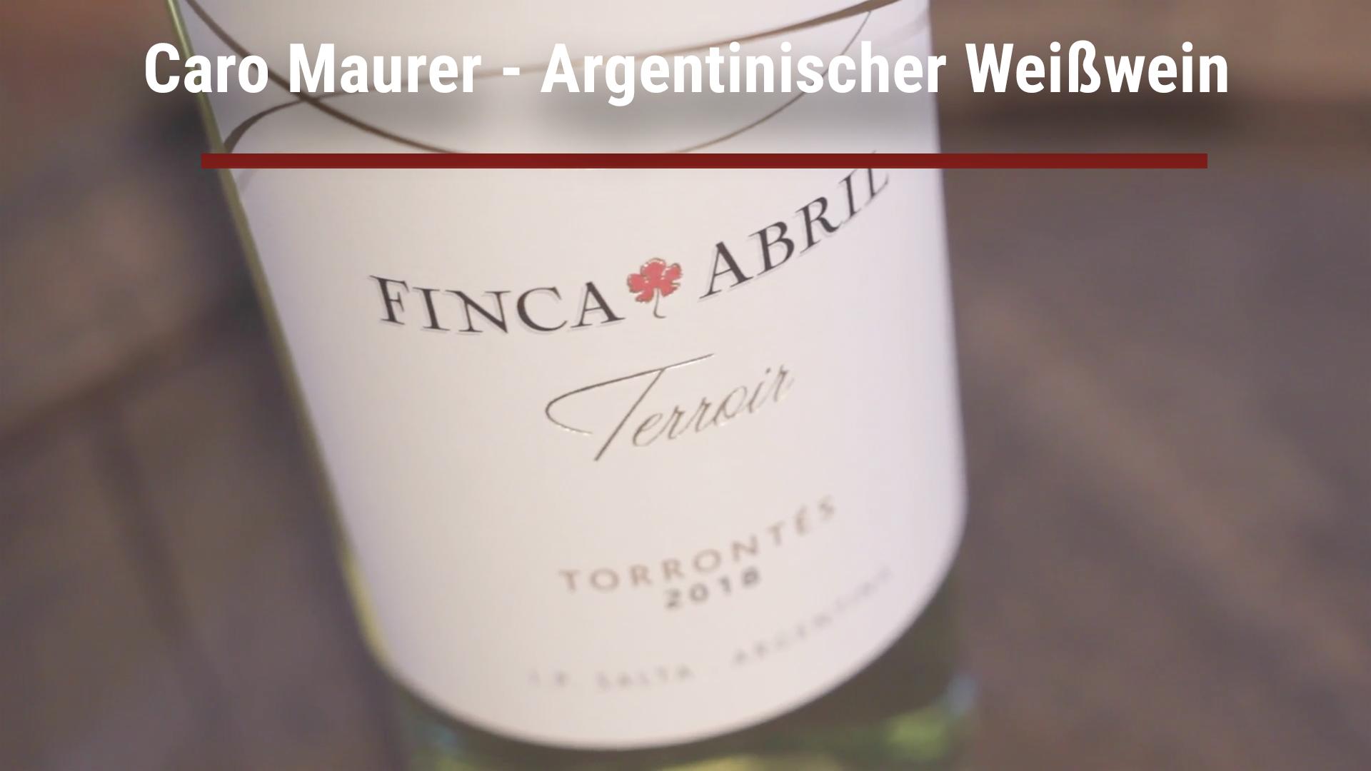 Caro Maurer – Argentinischer Weißwein