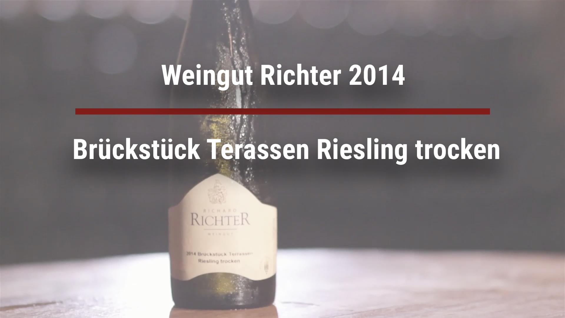 Winery Richter 2014 Brückstück Terassen Riesling dry