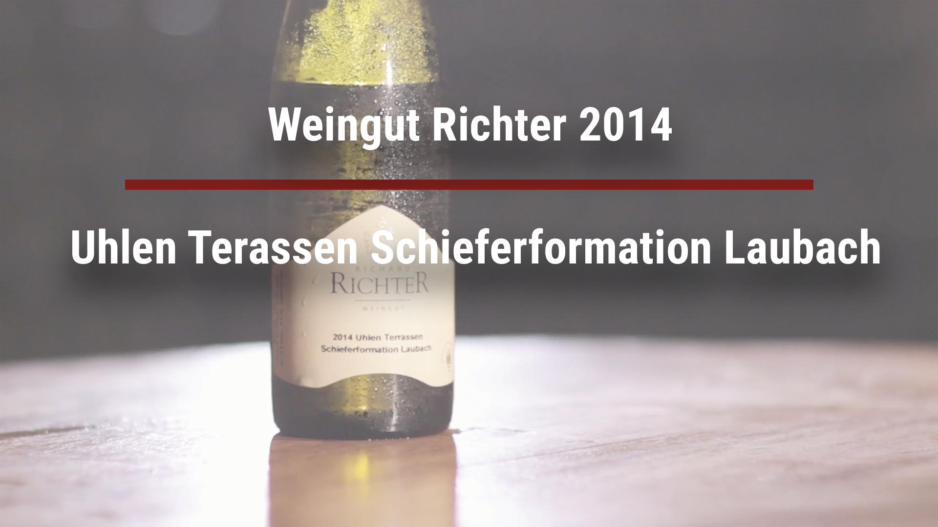 Winery Richter 2014 Uhlen Terassen Schieferformation Laubach