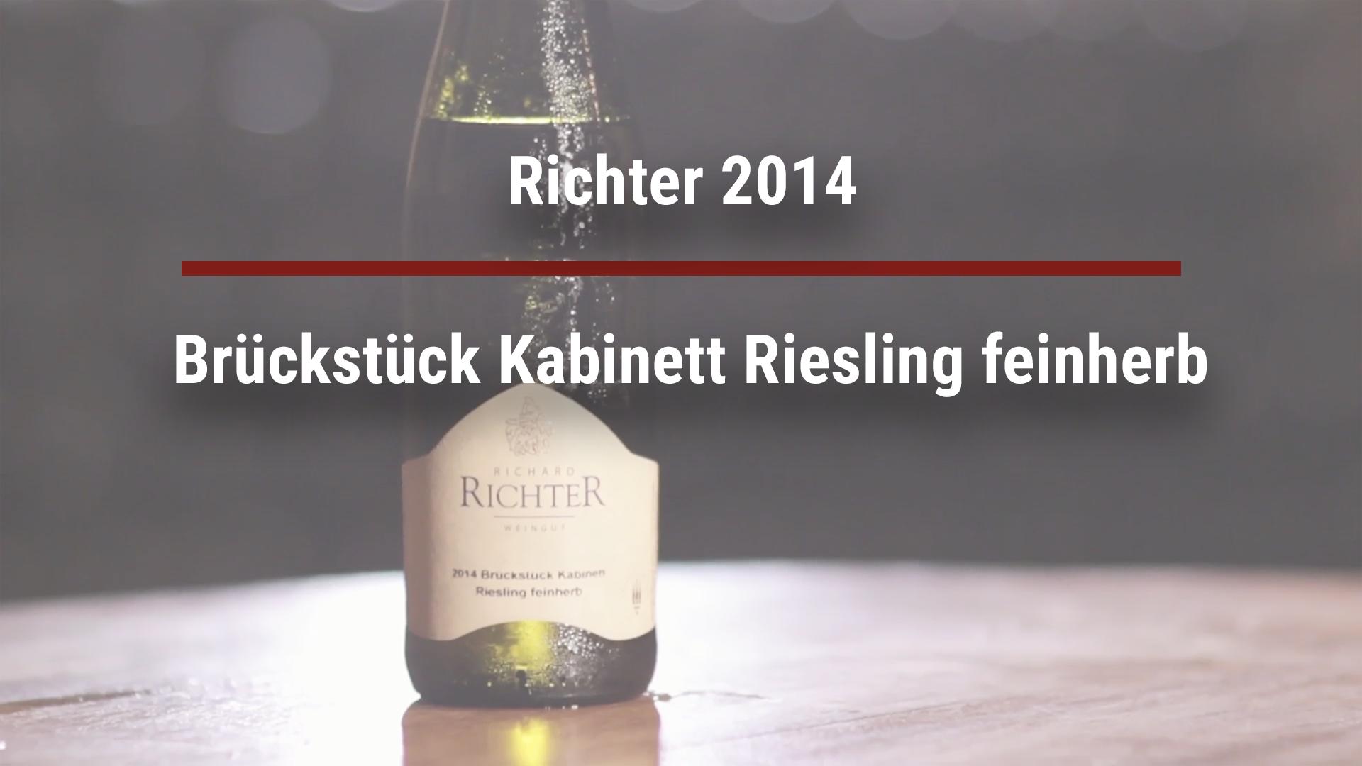 Richter 2014 Brückstück Kabinett Riesling feinherb