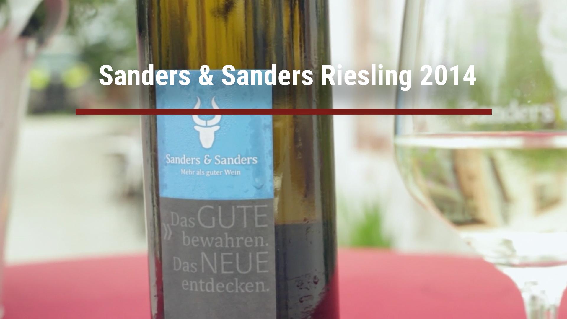Sanders & Sanders Riesling 2014