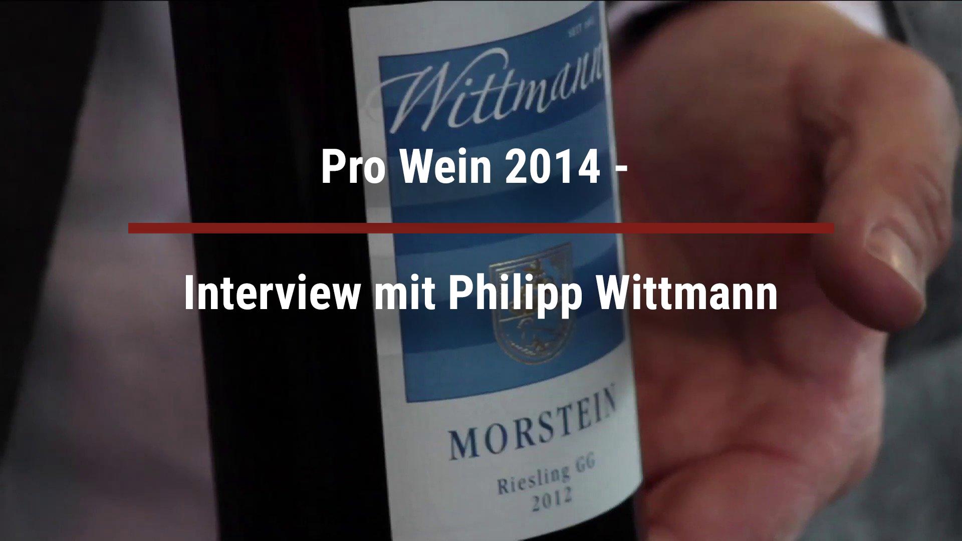 Pro Wein 2014 – Interview with Philipp Wittmann